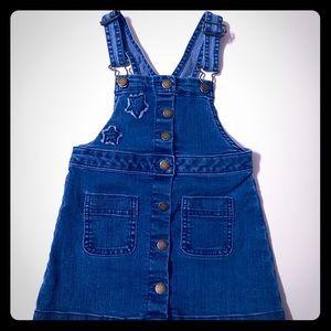 Toddler girl Overall Skirt